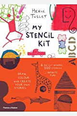 My Stencil Kit: Draw, colour and create your own stories Paperback