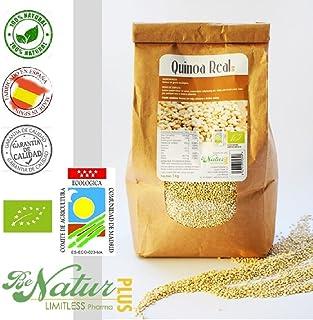 Quinoa Real en grano BeNatur Plus - 100% Quinoa Real procedente de Bolivia de Pureza
