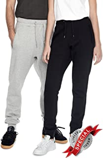 Underhood of London Yoga Joggers Sweatpants & Hoodie 2 Piece Set for Women with 100% Organic Cotton