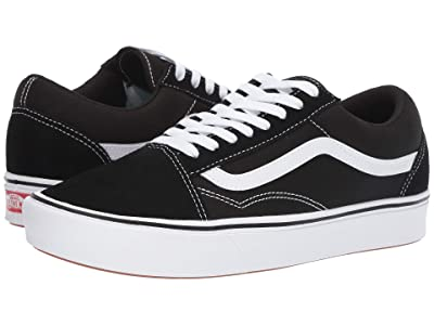 Vans Comfycush Old Skool ((Classic) Black/True White) Athletic Shoes