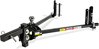 Equal-i-zer 4-point Sway Control Hitch, 90-00-1200, 12,000 Lbs Trailer Weight Rating, 1,200 Lbs Tongue Weight Rating, Weight Distribution Kit Includes Standard Hitch Shank, Ball NOT Included