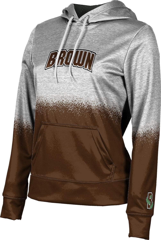 ProSphere Brown University Girls' Pullover Hoodie, School Spirit Sweatshirt (Spray Over)