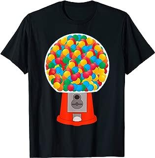 Bubble Gum Machine Gumball Machine Fun Halloween Party T-Shirt