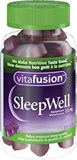 Vitafusion SleepWell Gummy Vitamins with Melatonin, 60 Count