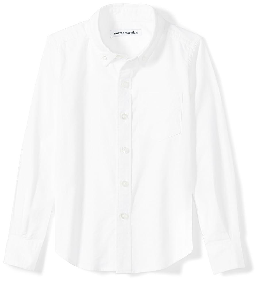 Amazon Essentials Boys' Long-Sleeve Uniform Oxford Shirt