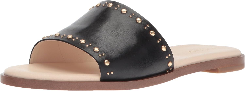 Cole Haan Womens Anica Stud Slide Sandal