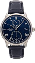 Glashutte Original Senator Mechanical (Hand-Winding) Blue Dial Mens Watch 58-01-05-34-30 (Certified Pre-Owned)