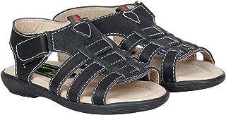 Bckled Up Black Open Toe Sandal