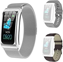 GideaTech Smart Watch with IP67 Waterproof,Fitness Tracker Watch with Pedometer Heart Rate, Blood Pressure Monitor Sleep T...