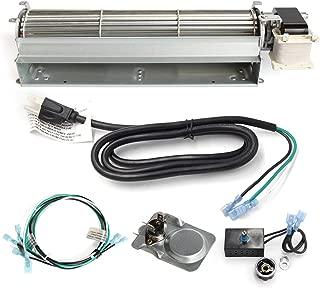 Hongso BKT GA3650T GA3650TB GA3700T GA3700TA Replacement Fireplace Blower Fan KIT for Desa, FMI, Vanguard, Vexar, Comfort Flame Glow, Rotom