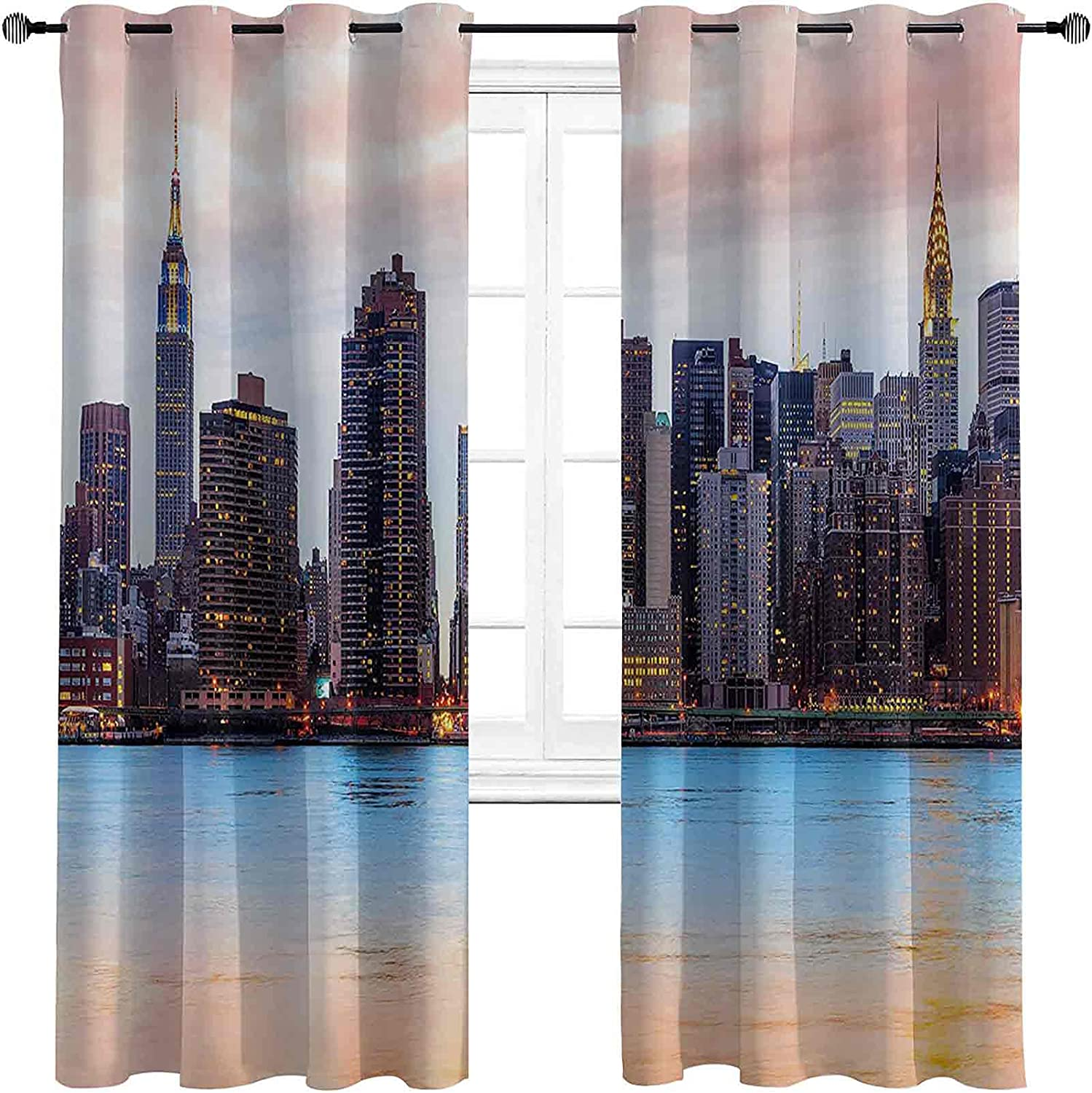 New York Shading Max 66% OFF Insulated Curtain Midtown products world's highest quality popular Skyline Vi Manhattan