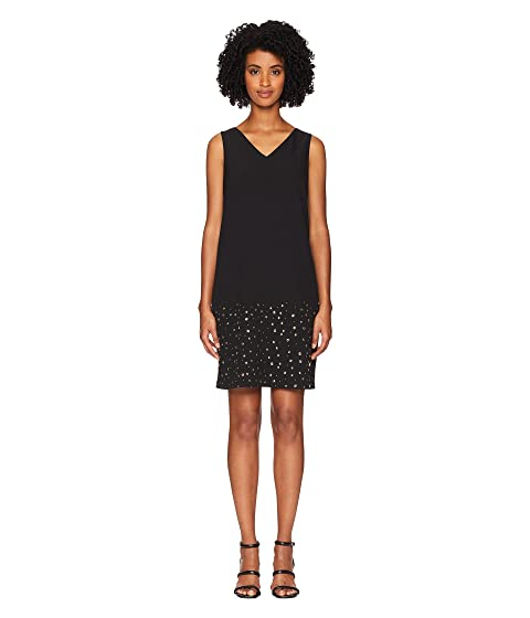 Boutique Moschino Cady Dress with Star Detail