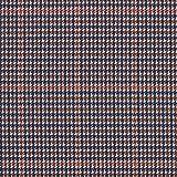 Tela de jersey romaní Príncipe de Gales – azul marino/rojo marrón — Mercancia al metro a partir de 0,5m — para coser de Pantalones, Faldas y Leggings