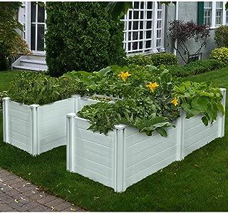 Keyhole 6 ft. x 6 ft. Composting Garden Bed