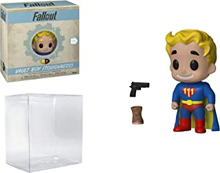 5 Star! Games: Fallout Vault Boy Toughness Vinyl Figure (Bundled with Pop Protector)