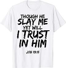Best job 13 verse 15 Reviews
