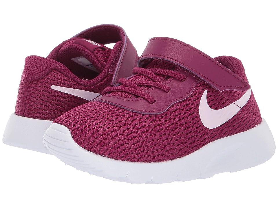Nike Kids Tanjun (Infant/Toddler) (True Berry/Pink Foam/White) Girls Shoes