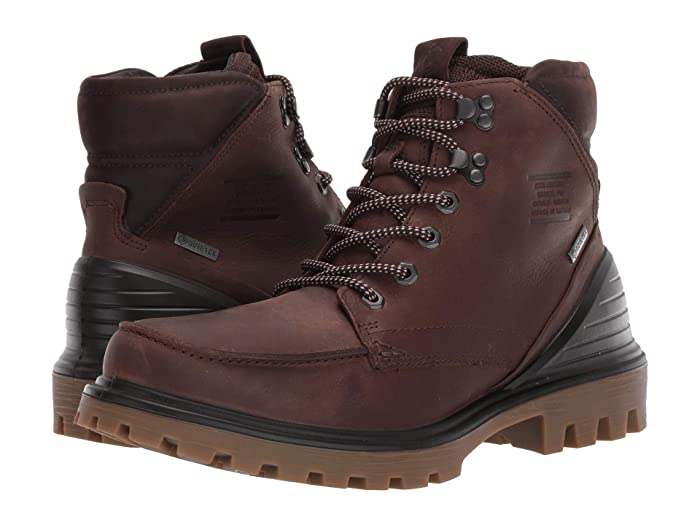 ECCO  Tred Tray GORE-TEX Moc Boot (Cocoa Brown/Mocha) Mens  Boots