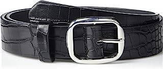 The Drop Women's Toni Oval Buckle Belt