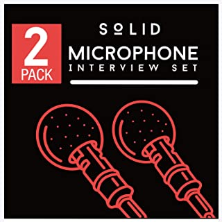 Sponsored Ad - SoLID (TM) Lavalier Lapel Microphone 2 Pack Complete Set Omnidirectional Mic for Desktop PC Computer, Mac, ...