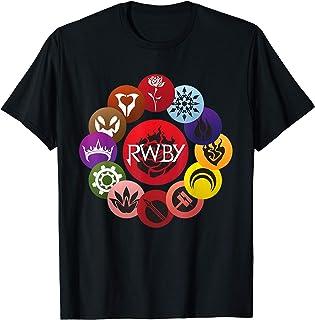 HAPPYHAPPYHAPPY RWBY Yang Xiao Boys Girls Short Sleeve T-Shirt Black