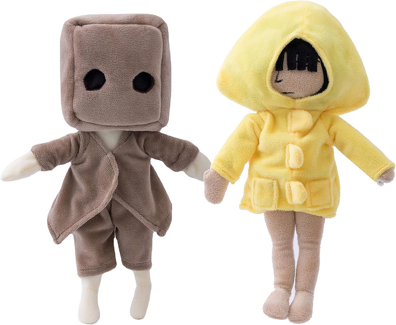 11.8'' Little Nightmares 2 Plush Figure Toys Mono half Six Now on sale