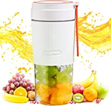 Portable Blender Bottles for Shakes And Smoothies, 10oz Mini Blenders, Electric USB Rechargeable Juicer Machines Extractor...