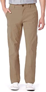 Unionbay Men`s Rainier Lightweight Comfort Travel Tech Chino Pants