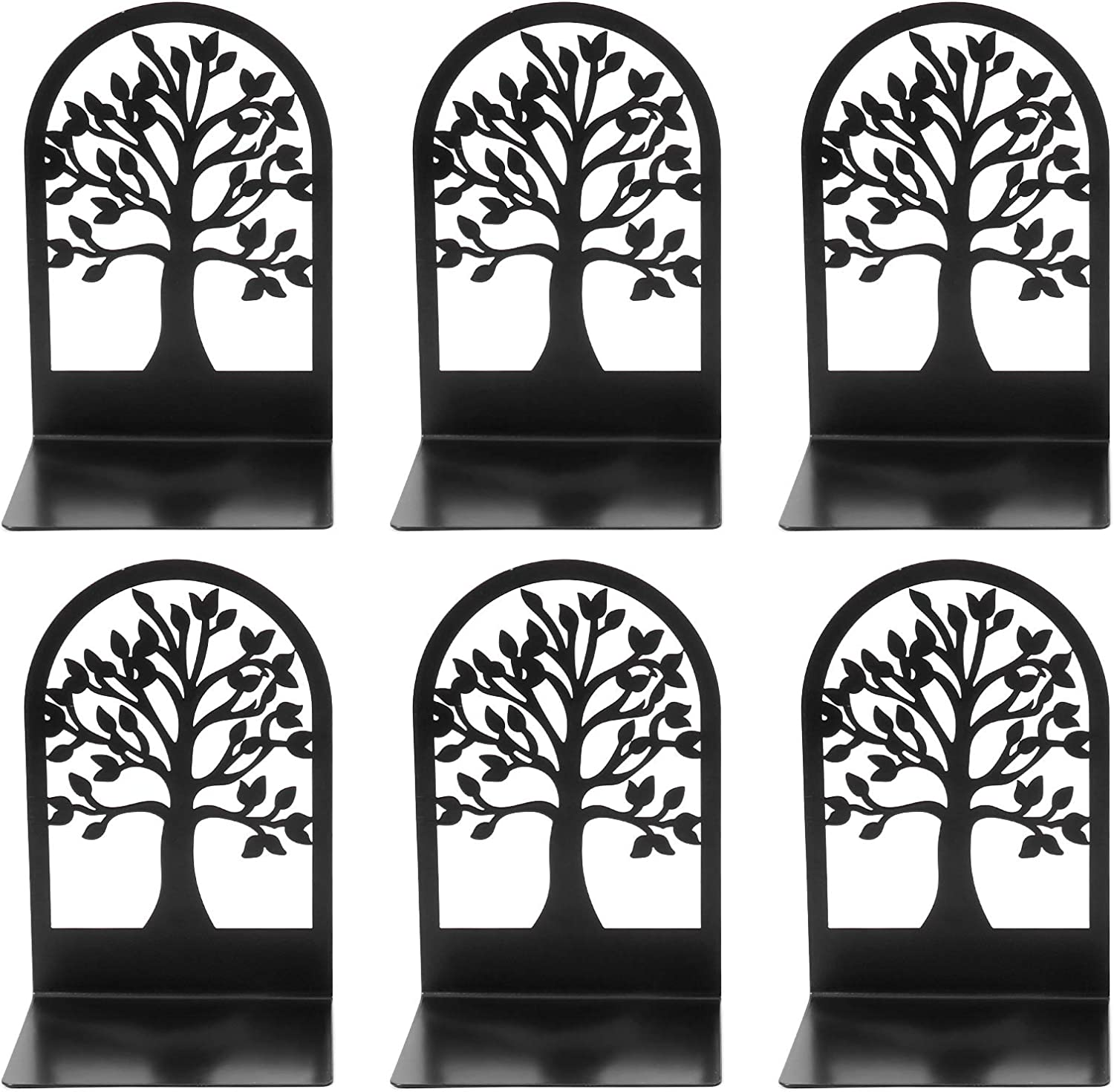 Decorative Bookends Tree of Max 80% OFF Life Bla Metal Ends Book Over item handling