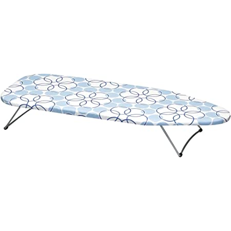 Amazon Com Woolite Scorch Resistant Table Top Ironing Board Fold Away Perfect For Dorm And Small Space Living Black Home Kitchen