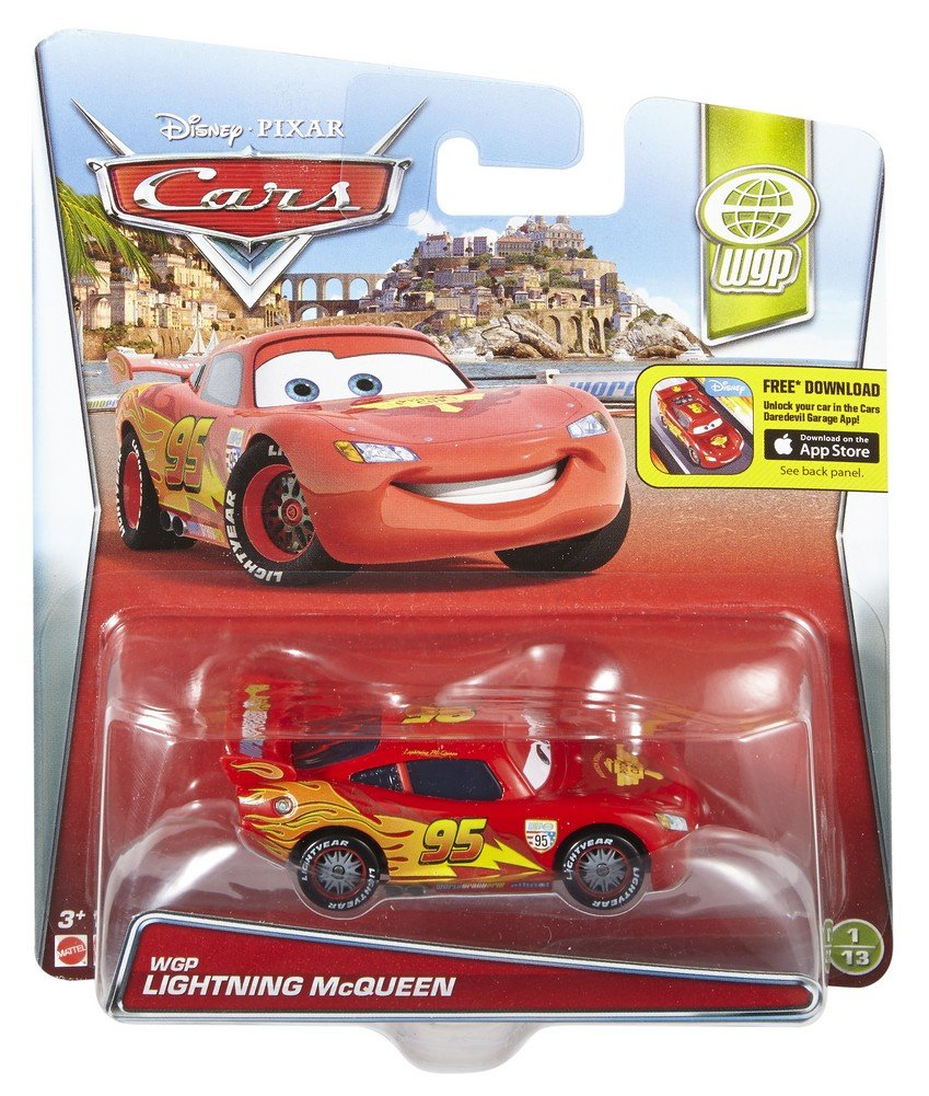 Mattel Disney Cars ckp75 Dragon Flash McQueen