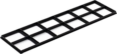 """Decor Grates FRP414 Pristene Air Filter Retainer for Decor Grates Registers, 4"""" by 14"""", 4 Pack"""