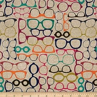 Best eyeglass print fabric Reviews