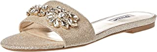 Dune London Nessaa Di Sandal For Women, Gold, 38 EU