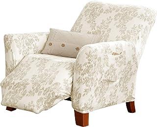 Great Bay Home Velvet Plush Stretch Recliner Slipcover. Velvet Recliner Furniture Protector, Soft Anti-Slip, High Stretch ...
