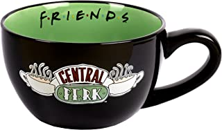 Friends - Mug Friends – Mug en céramique – Capacité de 650 ml – Mug Central Perk – Mug fantaisie – Tasse à café cappuccino...
