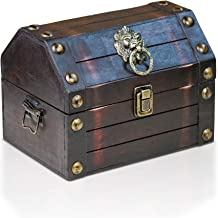 Brynnberg Caja de Madera Lionshead S 22x16x16cm - Cofre del