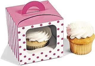 Best pink polka dot cupcake boxes Reviews