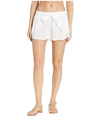 Roxy Lemon Chill Shorts Cover-Up (Bright White) Women