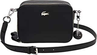 LACOSTE Daily Classic Double Zip Crossover Bag Black