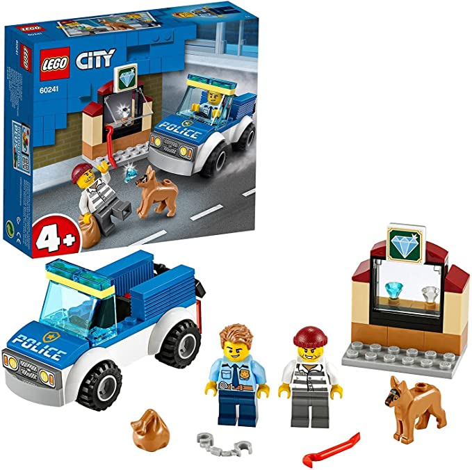 1527 opinioni per LEGO City Unità Cinofila della Polizia, Macchina Giocattolo con Figura del Cane,