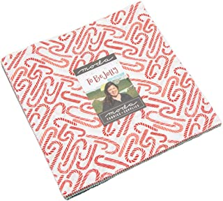 Moda Fabrics One Canoe Two To Be Jolly Layer Cake 42 10-inch Squares 36040LC