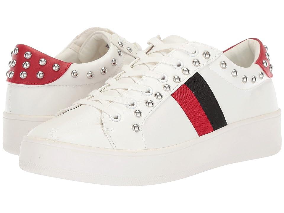 Steve Madden Belle Sneaker (White Multi) Women