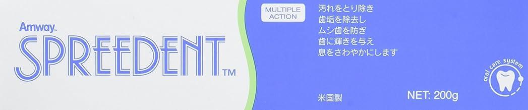 クレーター典型的なハイライトアムウェイ Amway スプリーデント フッ素配合ハミガキ (200g) E9831J【3個セット】