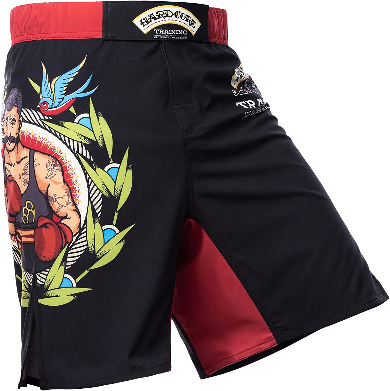 Hardcore Training Fight Time sale Shorts Old Wrestling Ranking TOP14 Tattoo Men's Boxing