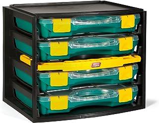 Tayg 1 Multibox con 4 estuches con separadores móviles 22-