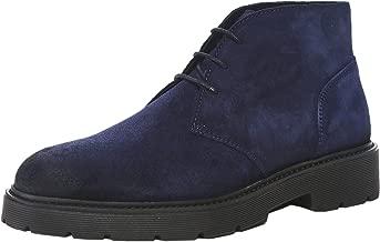 Tommy Hilfiger Men's Suede Desert Boots Navy