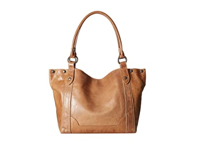 Frye Melissa Shoulder (Beige Anitique Pull Up) Shoulder Handbags