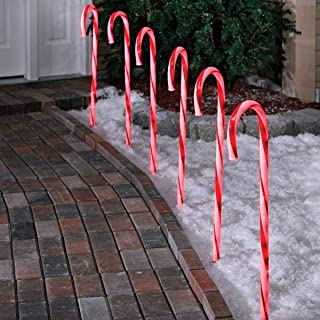 candy cane pathway lights costco