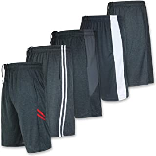 5 Pack:Men's Dry-Fit Sweat Resistant Active Athletic...